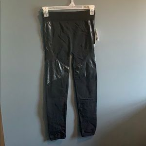 NWT Marshall's faux leather panel leggings